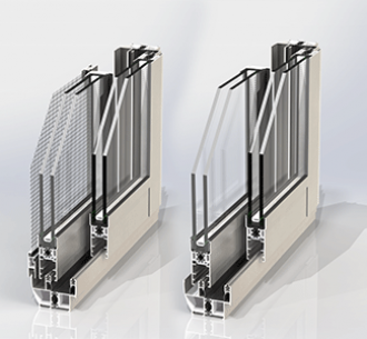 CTL55 | Sliding window with Mesh