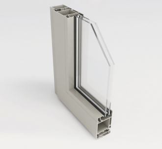 ND55IN | Casement door open in